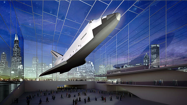 Space City didn't get a space shuttle, and Houston is irate