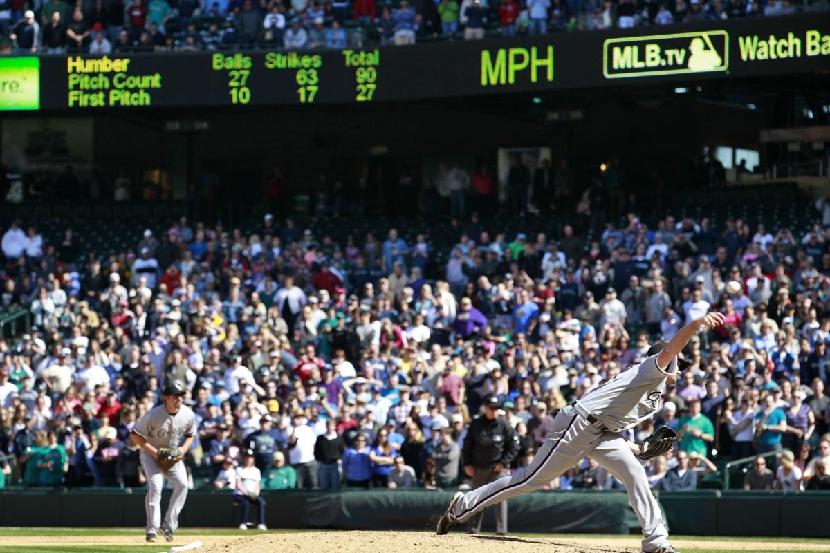 White Sox' Humber throws perfect game in shutout of Mariners