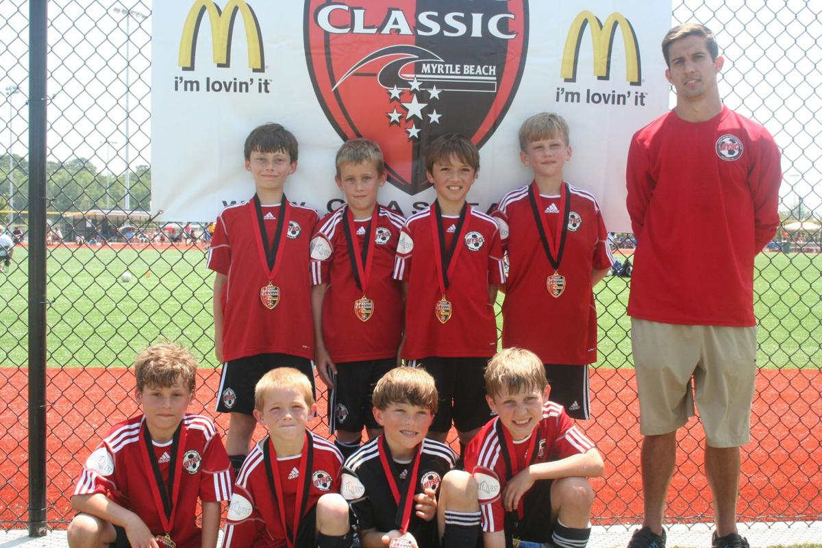 Gunners grab gold in Coast Spring Soccer Classic