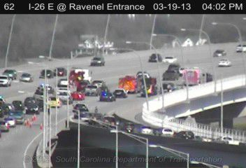 Ravenel bridge lane toward Mount Pleasant closed after wreck