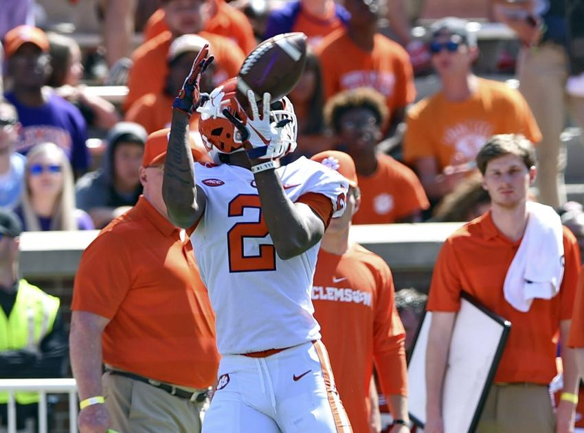 Clemson sophomore wide receiver ready to step into void left by Higgins, Ross