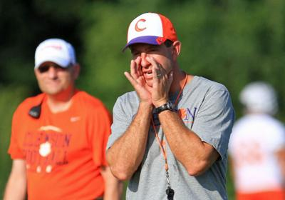 Heat is on as Clemson springs back into scrimmage prep (copy)