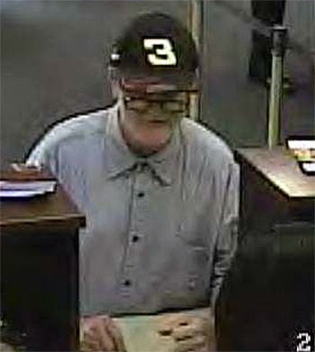 Police identify man wanted for downtown bank robbery