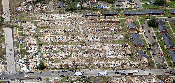 Deadliest outbreak in 4 decades: Despite technological advances, tornadoes were too big, powerful to avoid fatalities