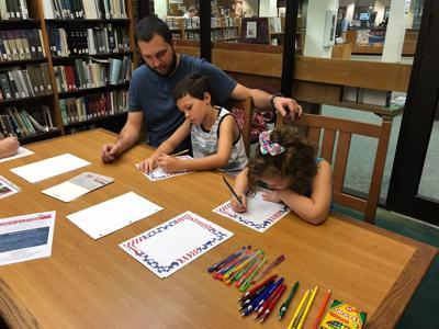 Library invites Summerville to write letters to veterans
