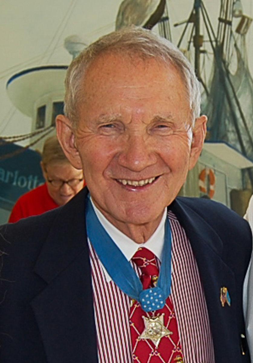 Medal of Honor recipient and Maj. Gen. James Livingston (copy)