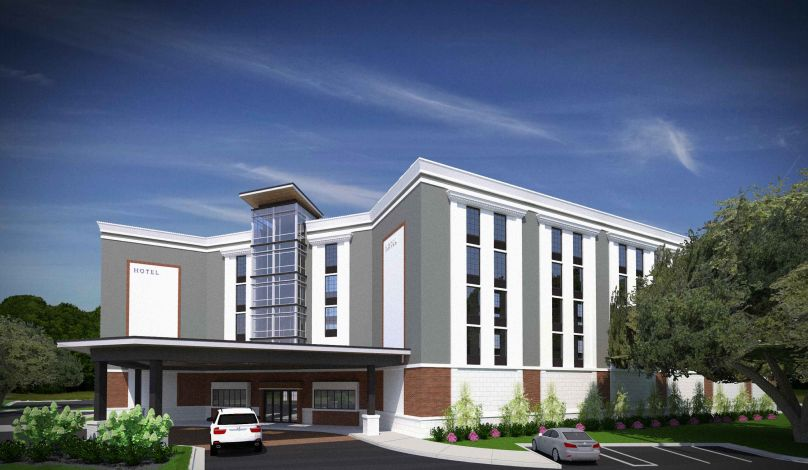 And Sleep Hotel Work Starting At Mount Pleasant S Towne Centre Business Postandcourier