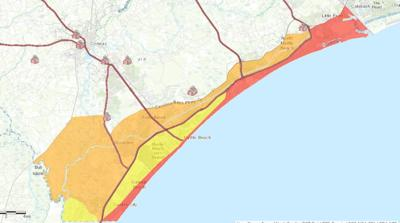 Horry County Evacuation Zones