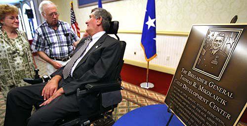 Air Force base renames center to honor Mikolajcik
