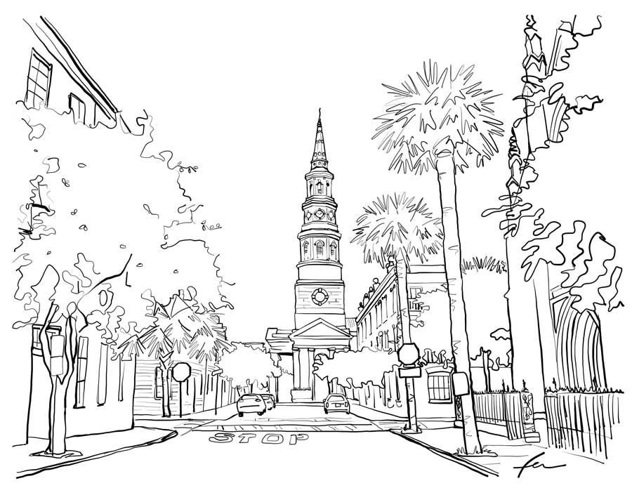 - Get Your Crayons Ready For These Charleston Coloring Pages COVID-19  Postandcourier.com