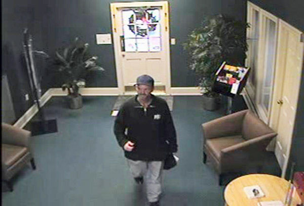Bank robbery photos released