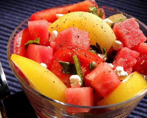 Fresh melons packed with flavor