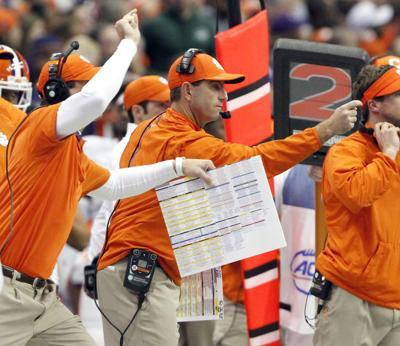 Clemson survives Syracuse