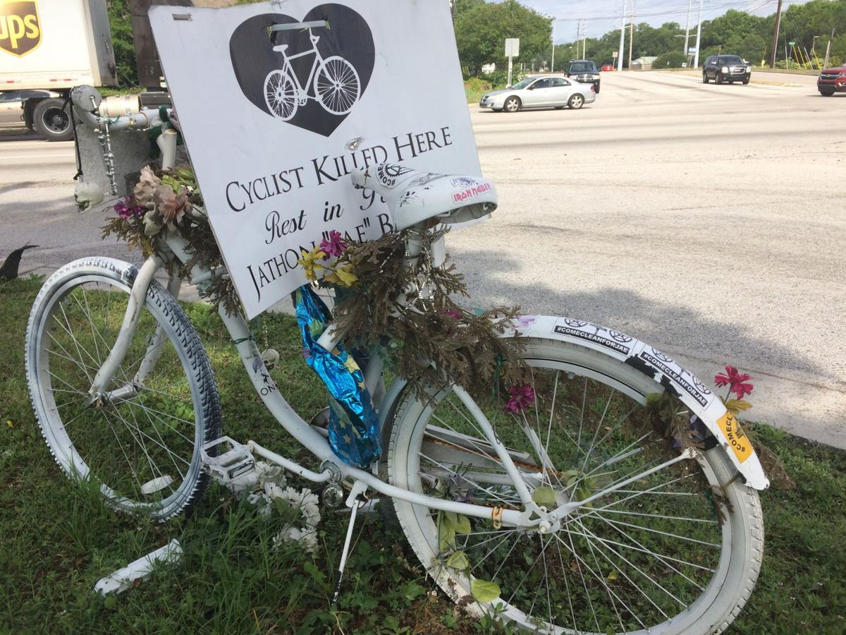 Ghost Bike at Azalea and Cosgrove