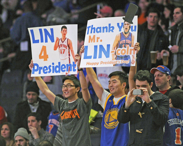 Jeremy Lin puts the pun back in sports