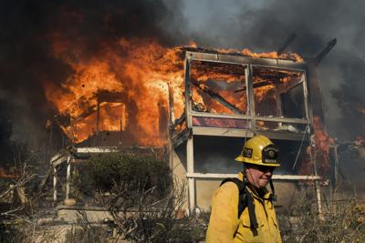 California wildfires surpass 100 square miles | News