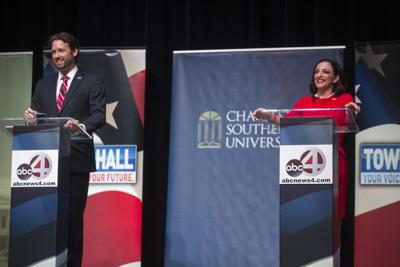 Katie Arrington and Joe Cunningham Debate03.jpg (copy)