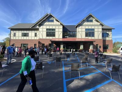 """$6.1 million """"clubhouse"""" facility for Greenville's mentally ill is dedicated"""