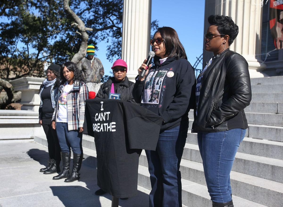 Rally activist: 'We have got to stop the violence'