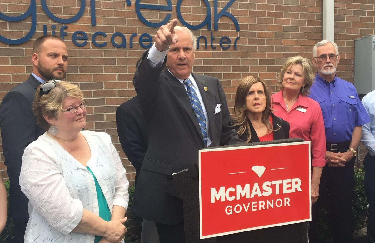 Henry McMaster campaign abortion