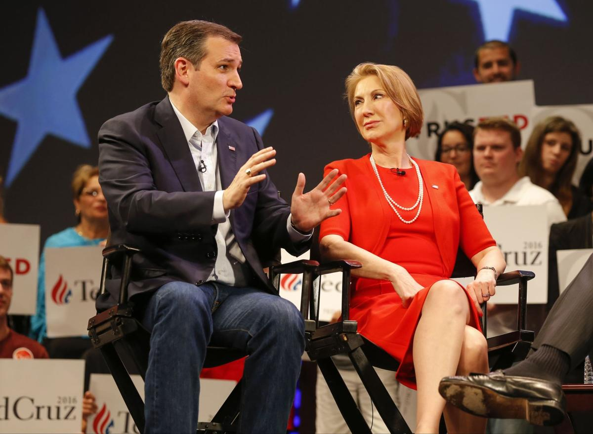 AP Source: Cruz taps Fiorina to serve as running mate