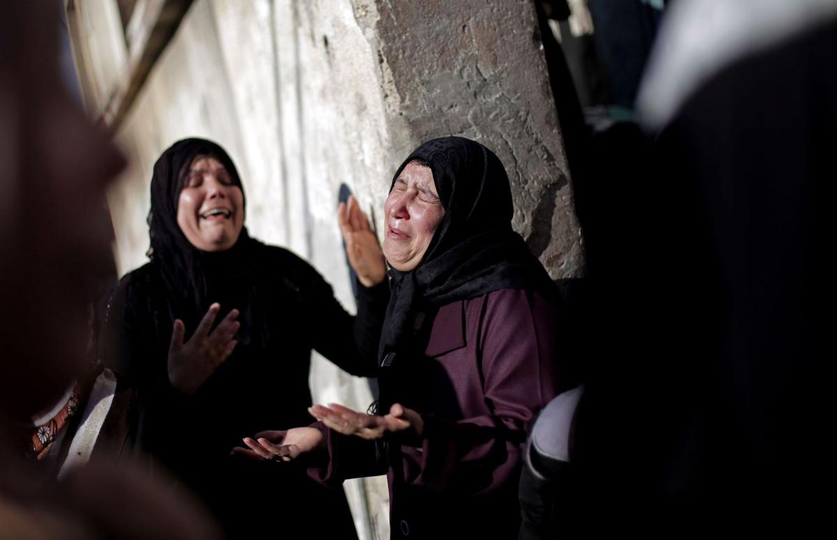 Israeli strike kills 4 Gaza youths on coastal road