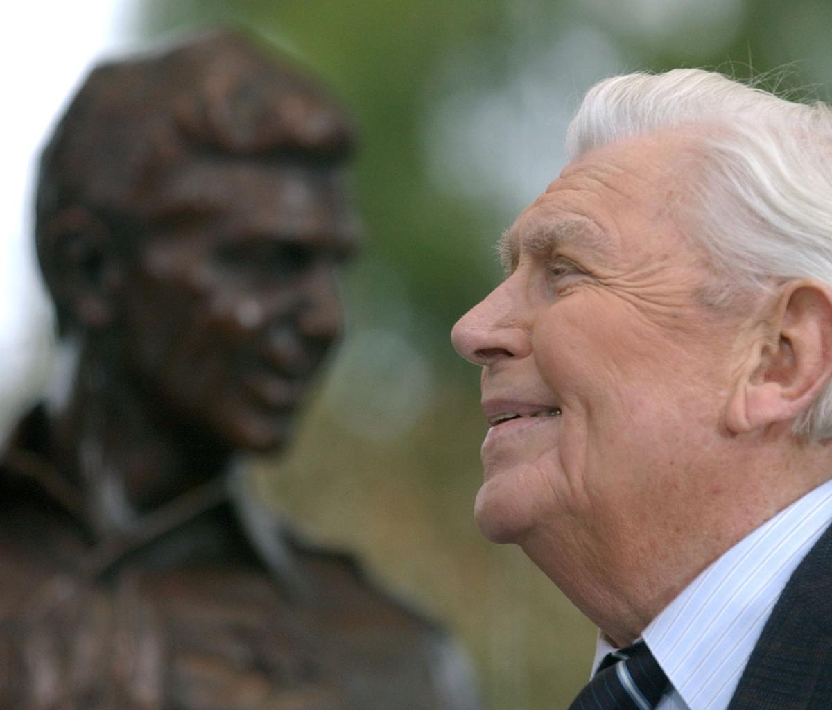 Andy Griffith acted, and lived, by the Golden RuleAndy Griffith was good for, and good at, business
