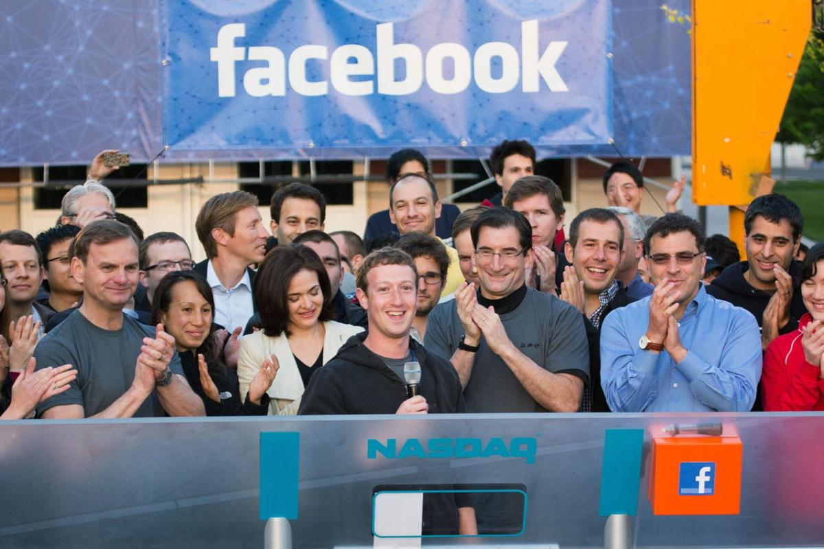 Back to business Facebook's employees not caught up in hype