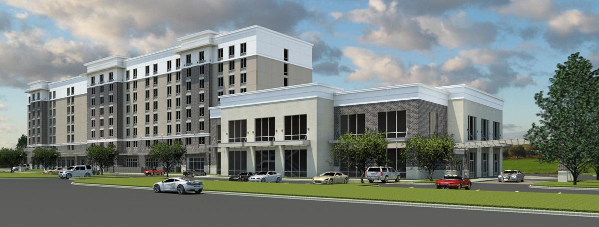 Hotel, conference center breaks ground at Nexton
