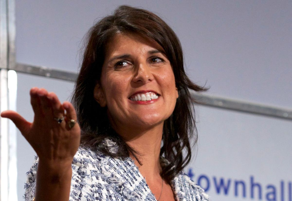 Haley announces fundraisers for potential campaign