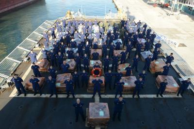 US Coast Guard cocaine seizure