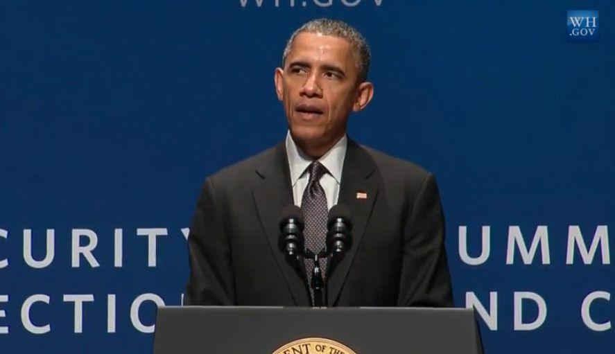 Obama focuses on cybersecurity in speech in Silicon Valley