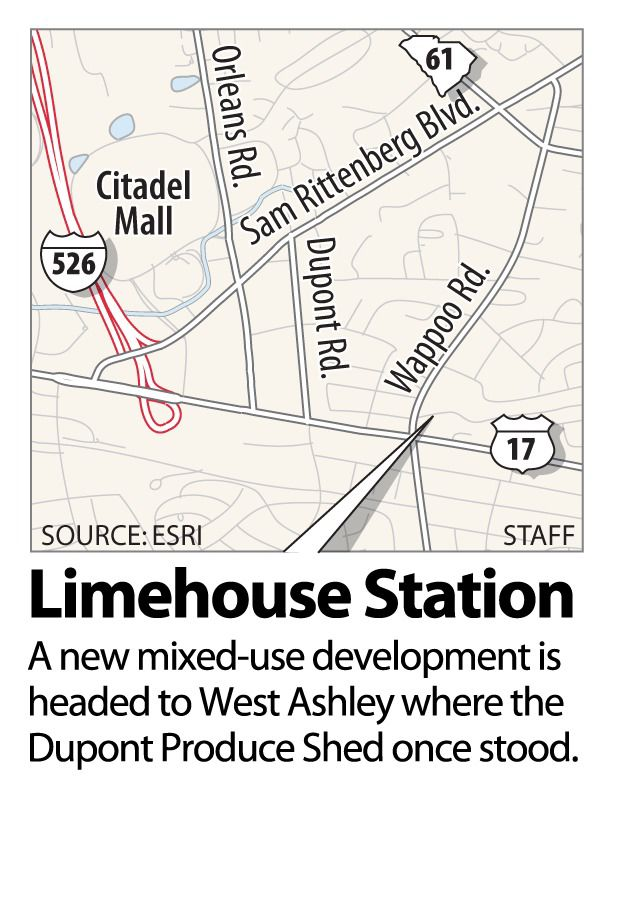 Details scant on mixed-use development project in West Ashley