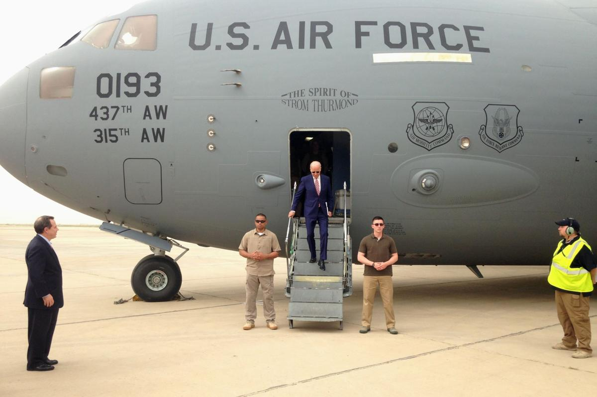 Spirit of Strom Thurmond carries Biden to Baghdad