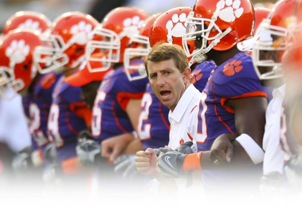 Clemson's Moneyball: Clemson football coach Dabo Swinney is paid less so his assistants can make more
