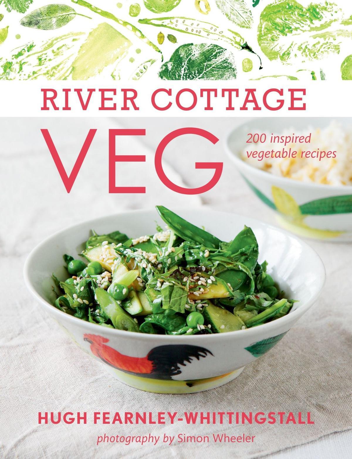 Books bursting with veggie recipes