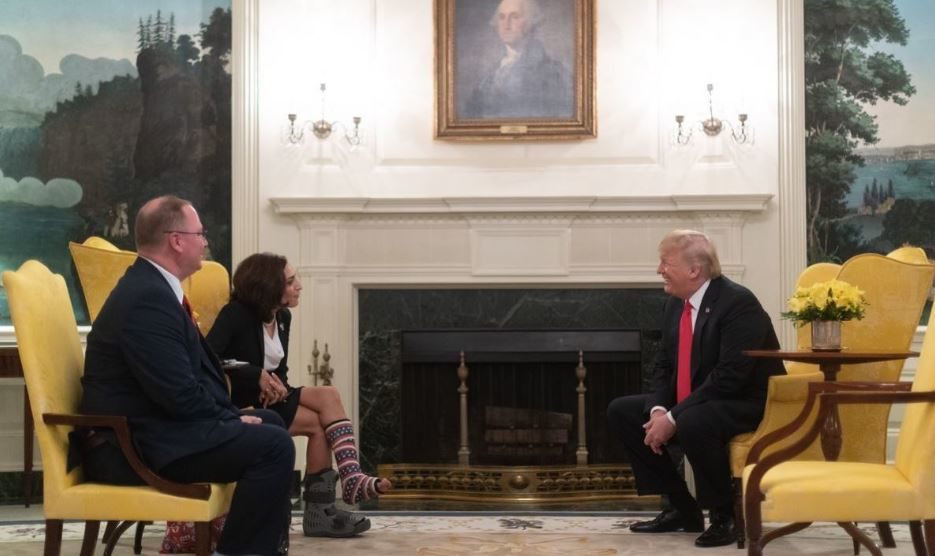 Katie Arrington and Donald Trump