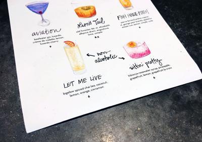 Tazza Kitchen drink menu non-alcoholic