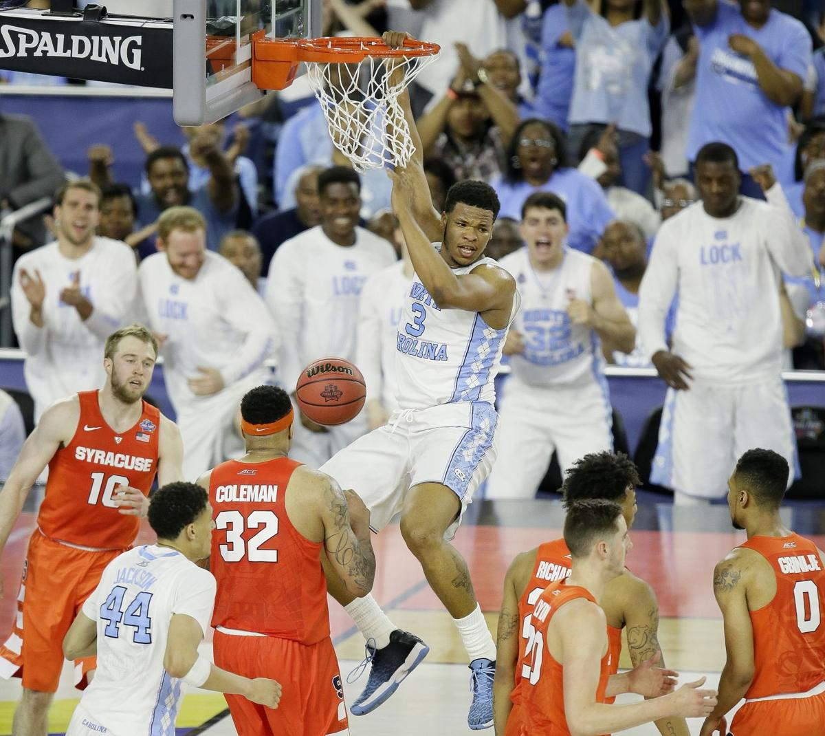 Inside-outside job lifts Tar Heels to victory over Orange