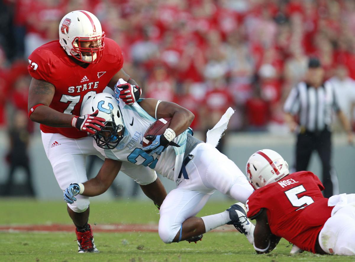 N.C. State overwhelms The Citadel