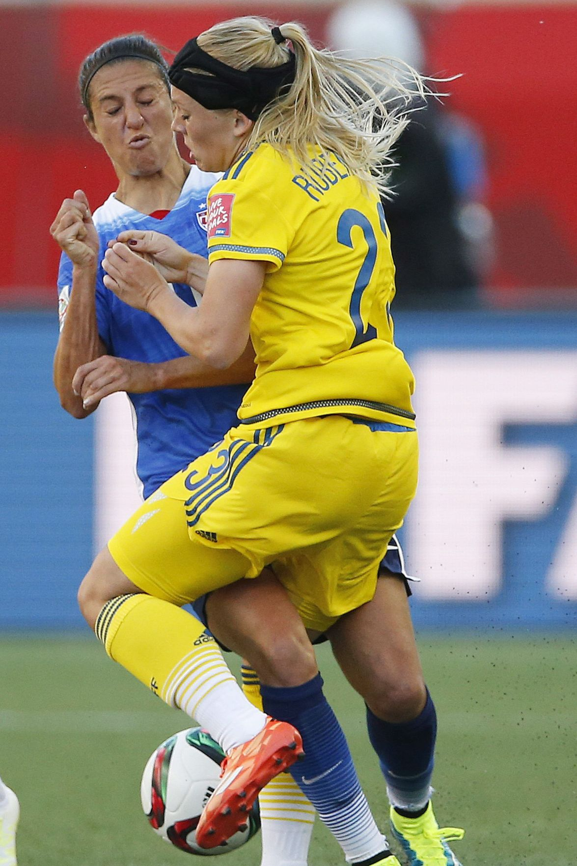 USA, Sweden draw