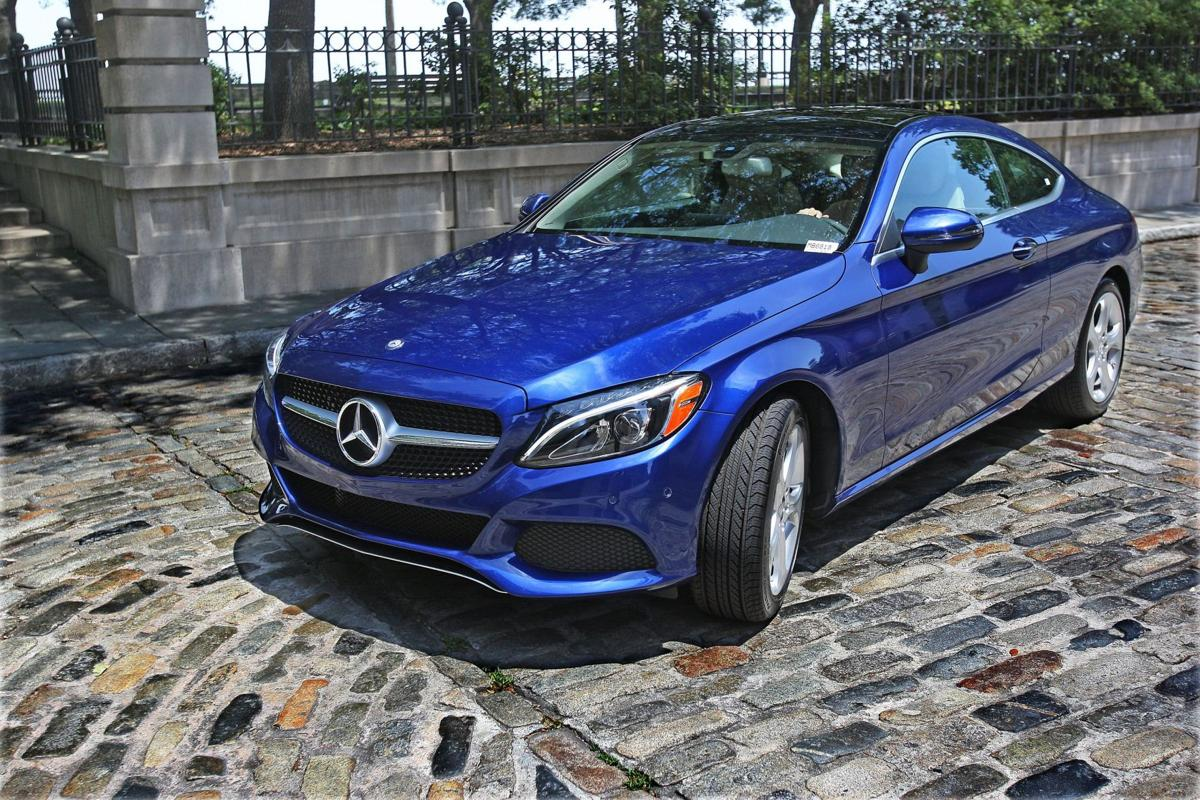 Coupe du jour Plush new Mercedes-Benz C300 two-door enhances sportiness, ride, adds power burst