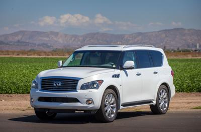 Infiniti full-size SUV emerges with new QX80 name but same powerful V-8 engine
