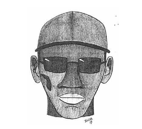Charleston police release sketch of King Street armed robbery suspect