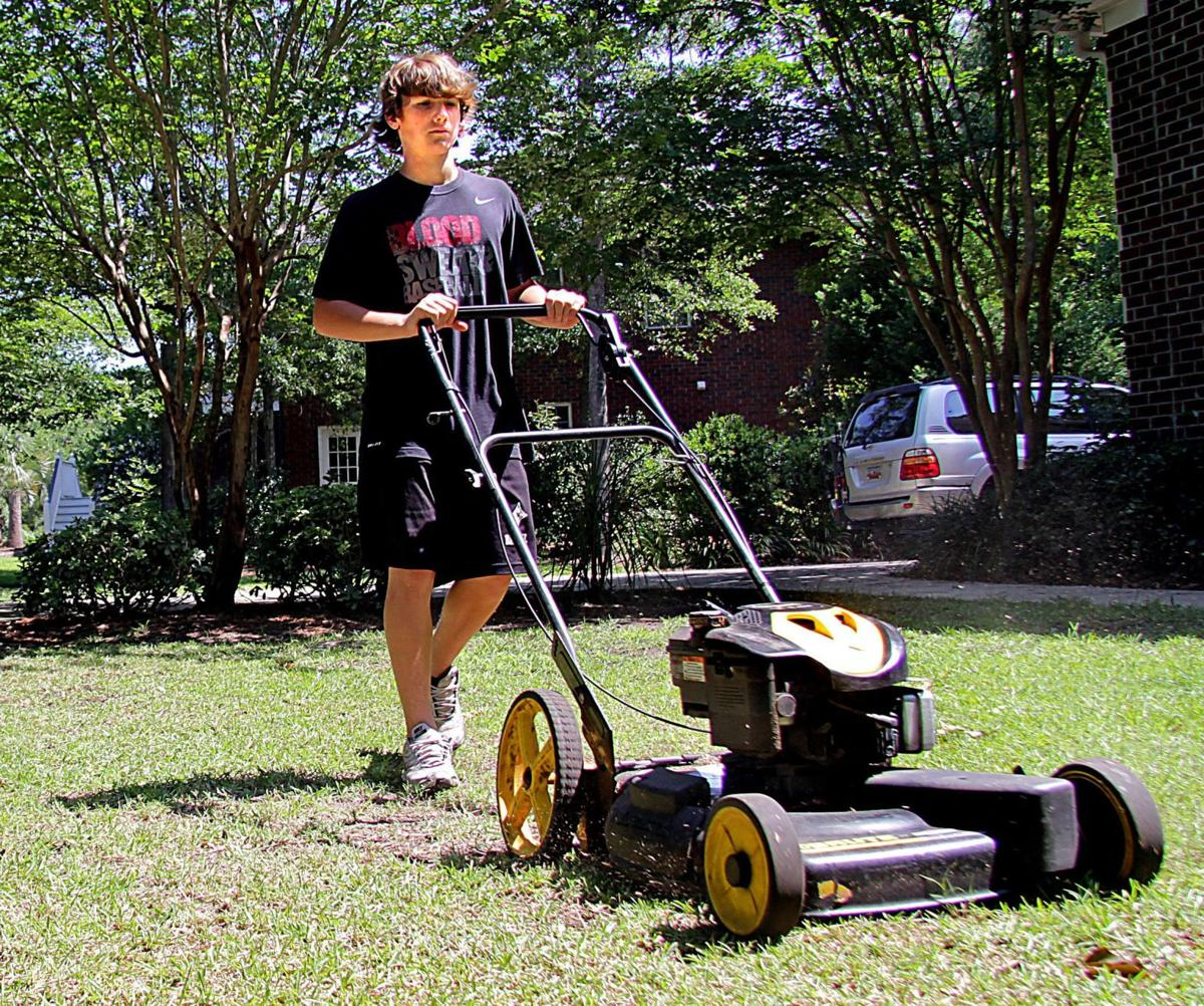 Making the cut lawn mowing businesses run by teens less for Vip lawn mowing services