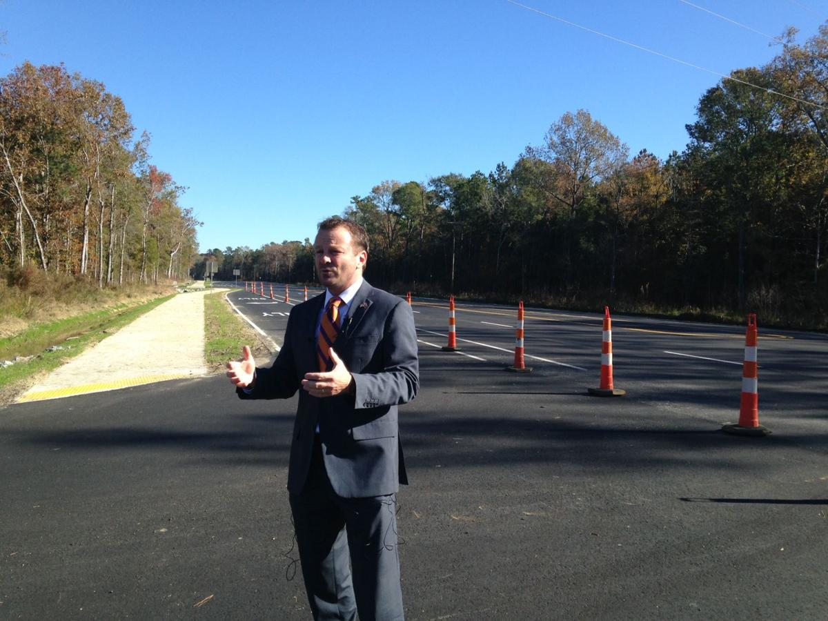 County Council Chairman Jay Byars talks about the widening of SC Highway 165