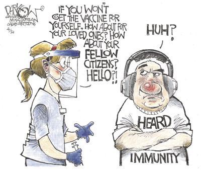 heard immunity cartoon