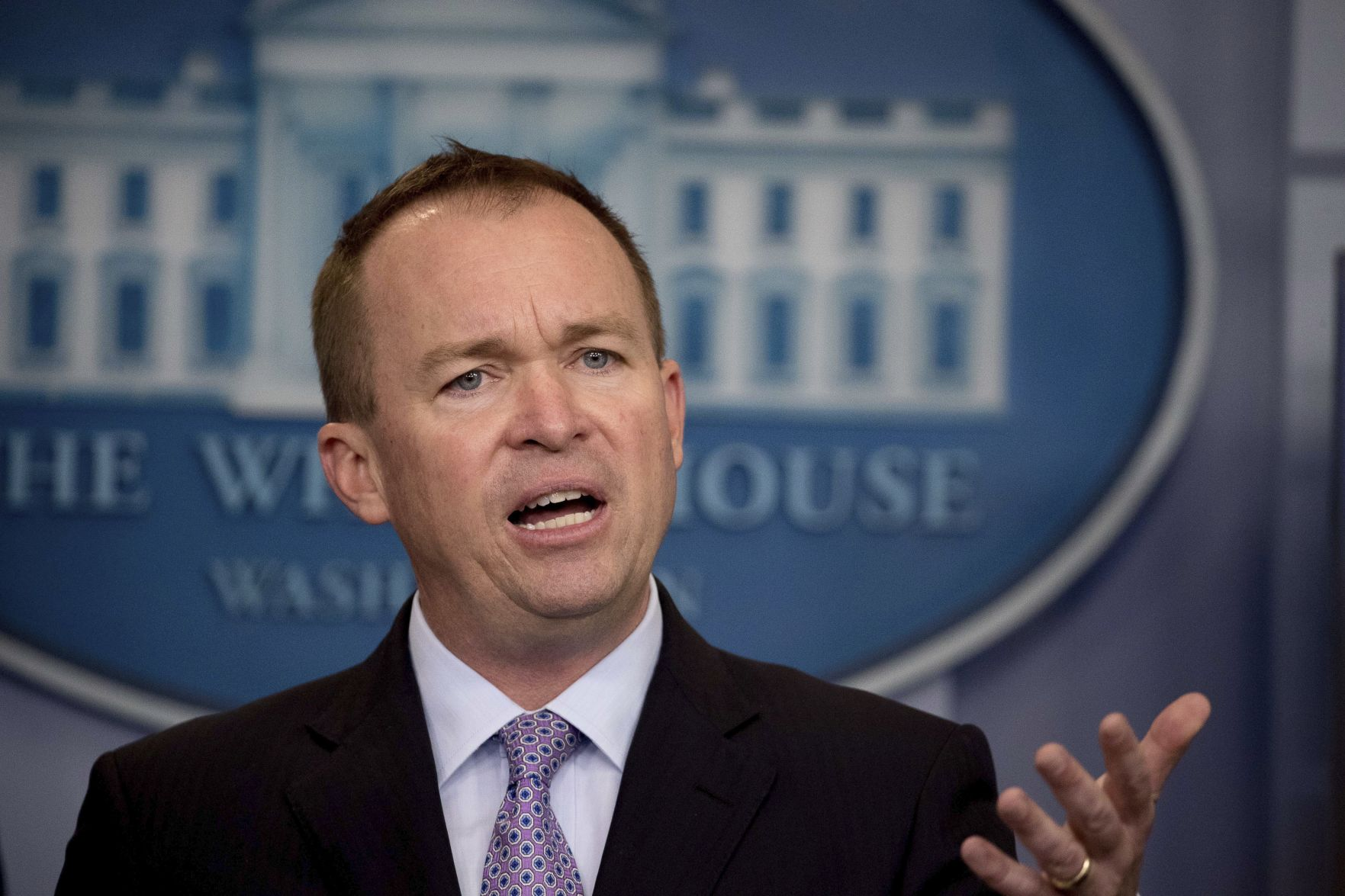 Mulvaney: It's White House policy Senate keeps focus on healthcare
