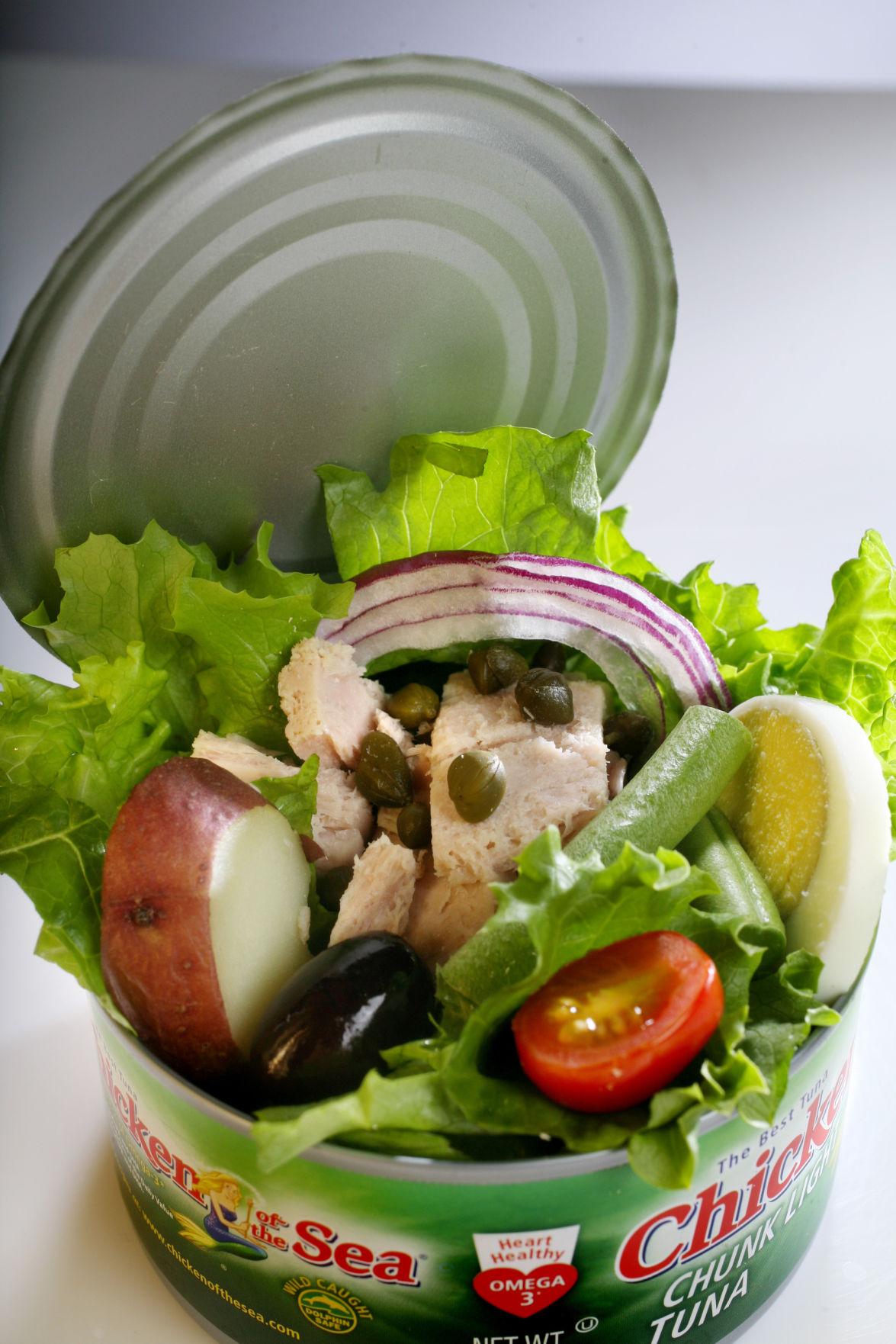 Good tuna is the essence of Salade Nicoise