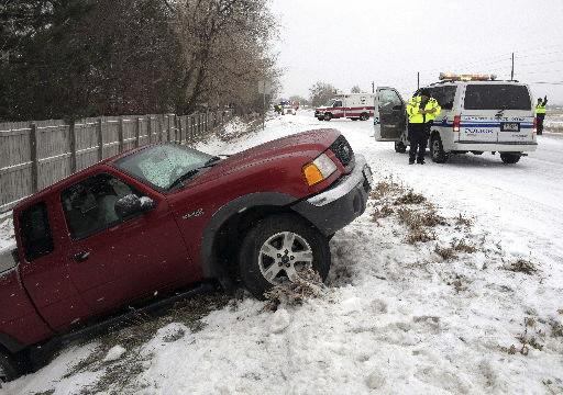 Deadly snowstorm halts travel across Great Plains